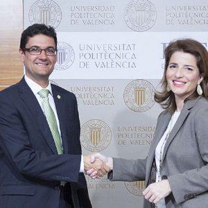 EDEM firma el convenio de adscripción a la Universitat Politècnica de València
