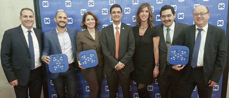 Marina de Empresas recibe el galardón honorífico en la décima edición de los Premios IDEAS UPV